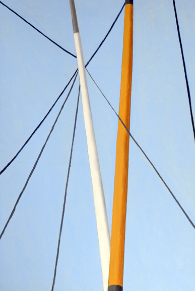 Ralston Crawford Masts and Rigging